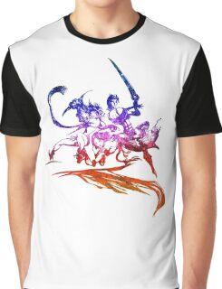 °FINAL FANTASY° Final Fantasy X-2 Rainbow Logo Graphic T-Shirt