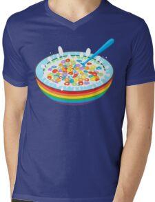 Breakfast time. Mens V-Neck T-Shirt