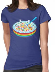 Breakfast time. Womens Fitted T-Shirt
