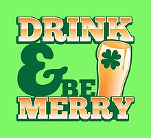 Green Irish Drink and be merry! by jazzydevil