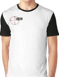 B.A.P Noir White Graphic T-Shirt