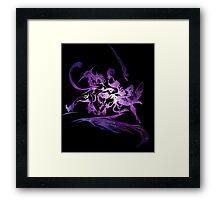 °FINAL FANTASY° Final Fantasy X-2 Space Logo Framed Print