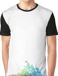 °FINAL FANTASY° Final Fantasy XI Rainbow Logo Graphic T-Shirt