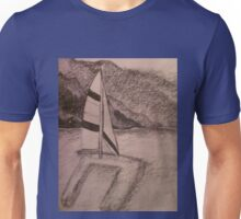 Sailin on.  Unisex T-Shirt