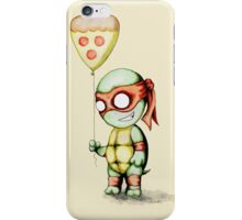 Mikey Pizza Balloon  iPhone Case/Skin