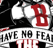 Have no fear the beard is here T-shirt & Hoodie Sticker