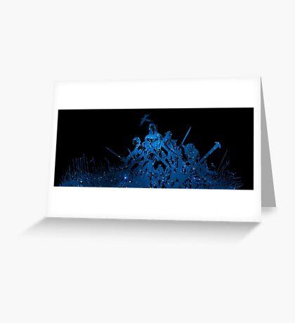 °FINAL FANTASY° Final Fantasy XI Space Logo Greeting Card