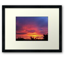 SUNRISE 2 Framed Print