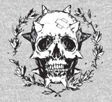 Chloe Price - Human Skull One Piece - Long Sleeve
