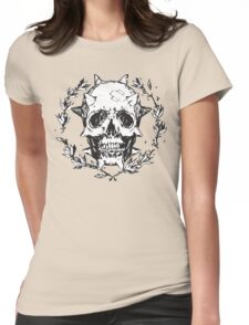 Chloe Price - Human Skull Womens Fitted T-Shirt