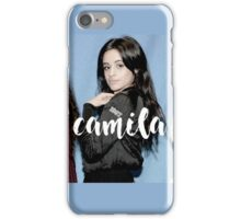 camila cabello fifth harmony iPhone Case/Skin
