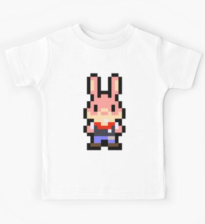 Pixel Arcade Bunny Kids Tee