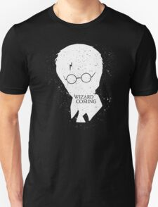 A Wizard Is Coming | Harry Potter | White T-Shirt