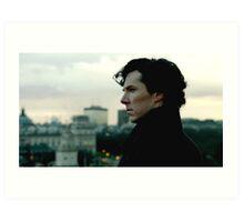 Benedict Cumberbatch as Sherlock Art Print