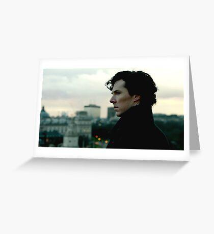 Benedict Cumberbatch as Sherlock Greeting Card