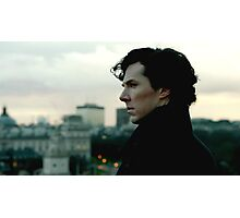 Benedict Cumberbatch as Sherlock Photographic Print