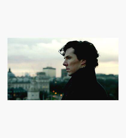 Benedict Cumberbatch as Sherlock Photographic Print