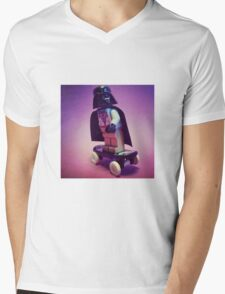 Darth Skater Mens V-Neck T-Shirt