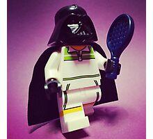Darth Tennis Photographic Print