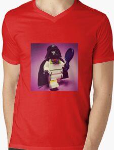 Darth Tennis Mens V-Neck T-Shirt