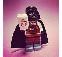 Darth Coffee Photographic Print
