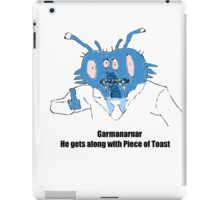 Garmanarnar iPad Case/Skin