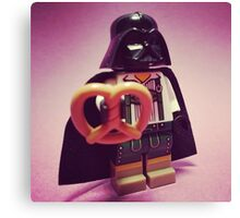 Darth Pretzel Canvas Print