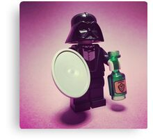 Darth Waiter Canvas Print