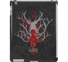 I feel like I'm fading with texture BG iPad Case/Skin