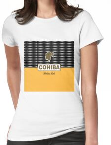 Cohiba Habana Cuba Womens Fitted T-Shirt