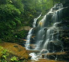 Sylvia Falls from the side by Michael Matthews