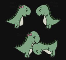 Itchy Head Dinos!  Kids Clothes