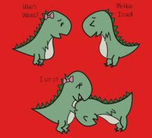 Itchy Head Dinos!  Kids Tee