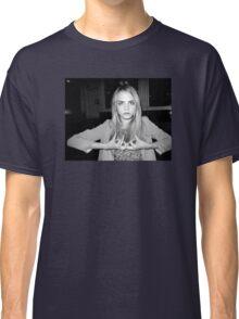 "Cara Delevingne ""Blood"" Classic T-Shirt"