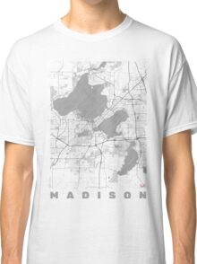 Madison Map Line Classic T-Shirt