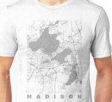 Madison Map Line Unisex T-Shirt