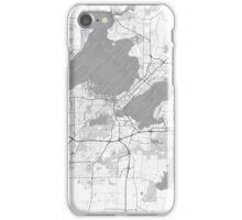Madison Map Line iPhone Case/Skin