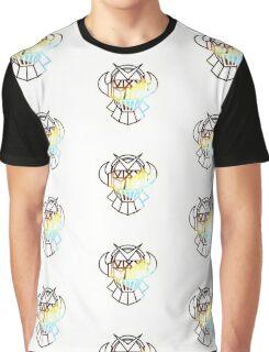 Rovix Nebula White Graphic T-Shirt