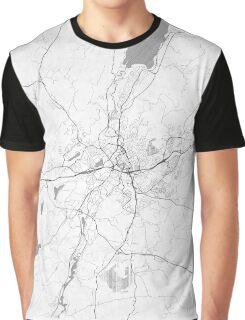 Boras Map Line Graphic T-Shirt