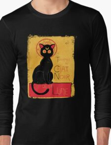 Chat Noir de la Lune - v.2.0 Long Sleeve T-Shirt