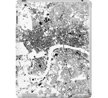 London Map Schwarzplan Only Buildings Urban Plan iPad Case/Skin
