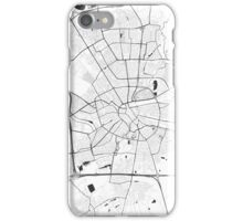 Eindhoven Map Gray iPhone Case/Skin