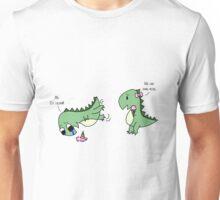 Dino Love (sharing) Unisex T-Shirt