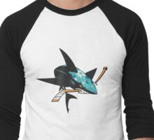 #soft Jose Sharks Men's Baseball ¾ T-Shirt