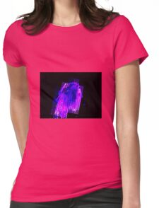 PAINT STROKE Womens Fitted T-Shirt