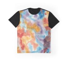 Hand painted abstract watercolor texture Graphic T-Shirt