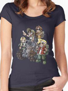 Slug Team Women's Fitted Scoop T-Shirt