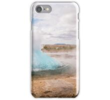 Stokkur lets go, Golden Circle, Iceland iPhone Case/Skin