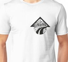 Fineliner mountains Unisex T-Shirt