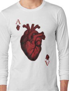 Ace of Hearts Long Sleeve T-Shirt